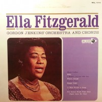 Ella Fitzgerald with orchestra and chorus - Ex/Ex, Japan press